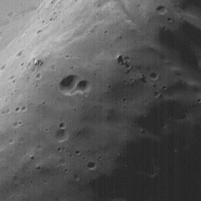 Surface de Phobos